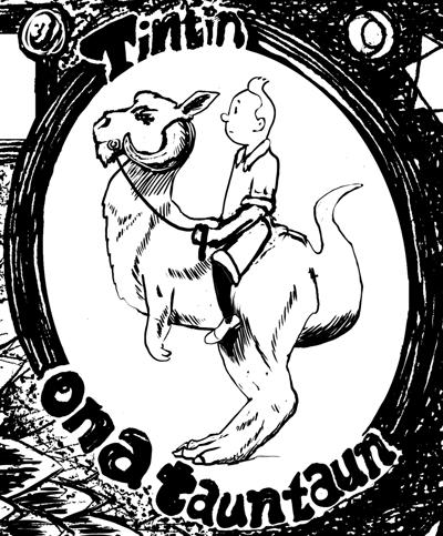 New Bitcoin:  Tintin on a Tauntaun