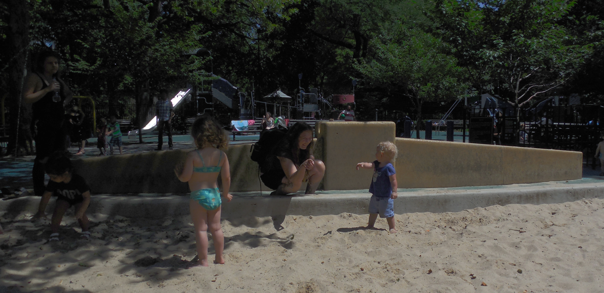 amelia gewel sandbox tompkins square 2014