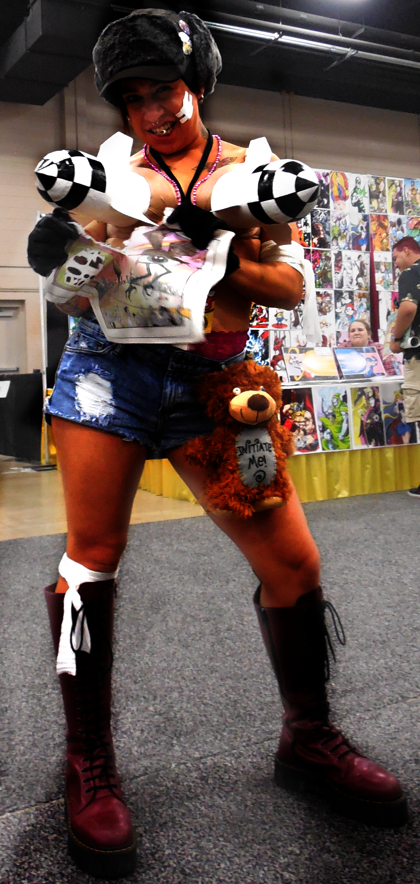 I know Tank Girl I worked with Tank Girl